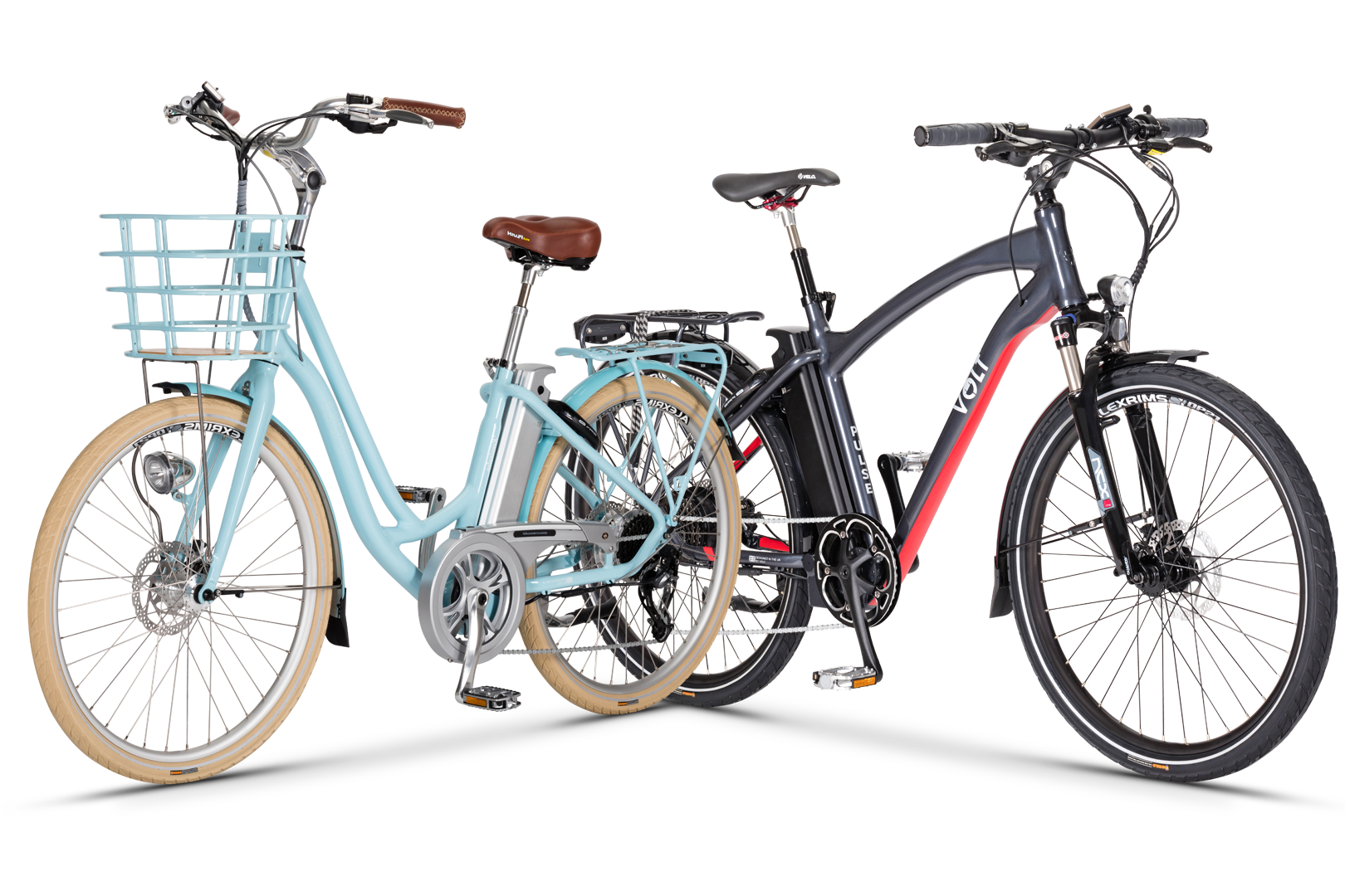 Our VOLT™ e-bikes to rent